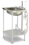 Folding washbasin with hitting NSO-01.UPN-01